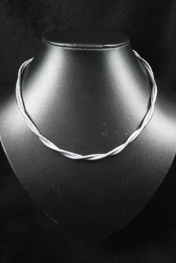 Intertwined Snake Chain