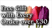 Free Gift with every order over £30